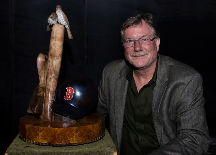 """Life, Legacy & Love,"" A Maple Burl Carving for Big Papi"